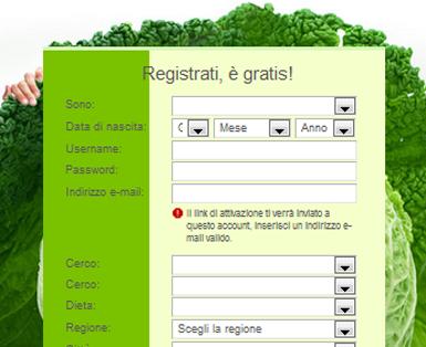 vegetariani online