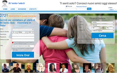 Siti di Incontri Online: Mi Sento Solo.it